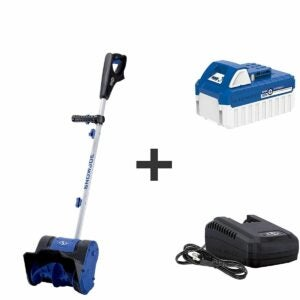 The Best Electric Snow Shovel Option: Snow Joe 24V-SS10 24-Volt Cordless Snow Shovel