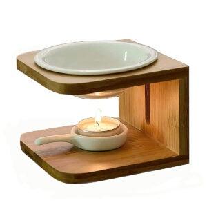 Best Essential Oil Diffuser Options: Singeek 100ML Ceramic Tea Light Holder
