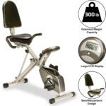Best Exercise Bikes Options: Exerpeutic 400XL Folding Recumbent Bike