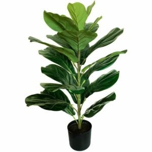 "The Best Fake Plants Option: BESAMENATURE 30"" Little Artificial Fiddle Leaf Fig Tre"