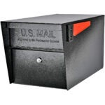 Best Locking Mailbox Options: Mail Boss 7506 Mail Manager Curbside Locking Security Mailbox