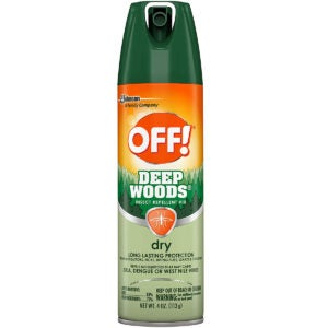 Best Mosquito Repellent Options: OFF! Deep Woods Insect & Mosquito Repellent VIII