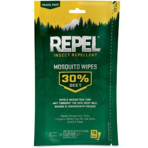 Best Mosquito Repellent Options: Repel 94100 Insect Repellent Mosquito Wipes