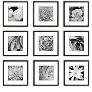 Best Picture Frames Options: Gallery Perfect Gallery Wall Kit Square Photos