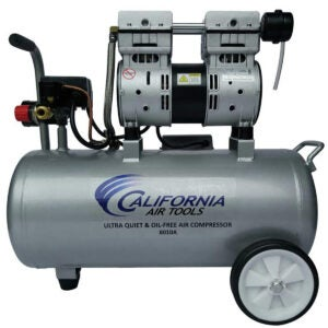 Best Portable Air Compressor Options: California Air Tools 8010A Ultra Quiet & Oil-Free Lightweight Air Compressor