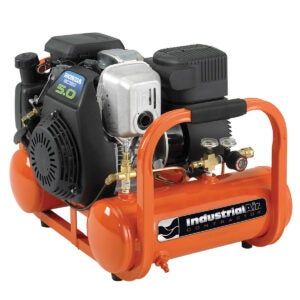 Best Portable Air Compressor Options: Industrial Air Contractor 4 Gallon Portable Pontoon Air Compressor