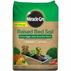 The Best Potting Soil Option: Miracle-Gro Raised Bed Soil, 1.5 cu. ft.