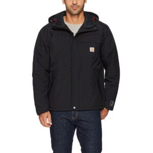 Best Rain Jacket Options: Carhartt Men's Insulated Shoreline Jacket