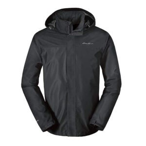 Best Rain Jacket Options: Eddie Bauer Men's Rainfoil Packable Jacket