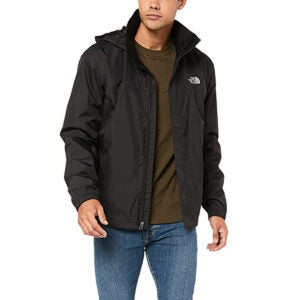 Best Rain Jacket Options: The North Face Men's Resolve Waterproof Jacket