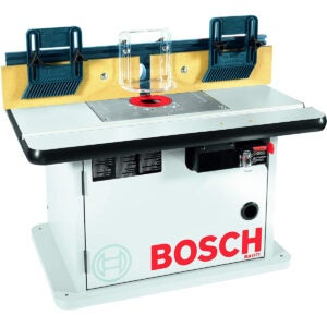 Best Router Table Options: Bosch Cabinet Style Router Table RA1171