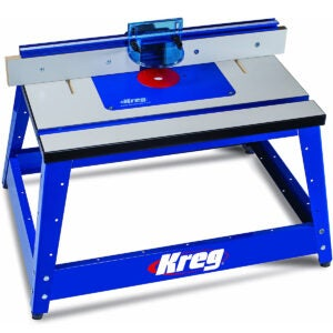 Best Router Table Options: Kreg PRS2100 Bench Top Router Table