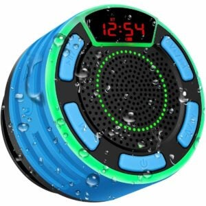 The Best Shower Speaker Option: BassPal Bluetooth Speakers, BassPal IPX7 Waterproof