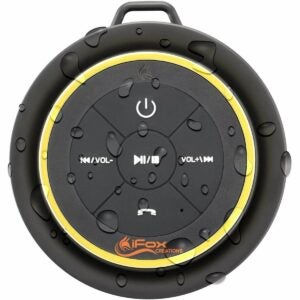 The Best Shower Speaker Option: iFox iF012 Bluetooth Shower Speaker