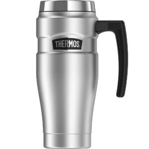 Best Travel Mug Options: Thermos Stainless King 16 Ounce Travel Mug