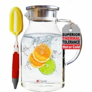 The Best Water Pitcher Option: Glass Water Pitcher by Pykal