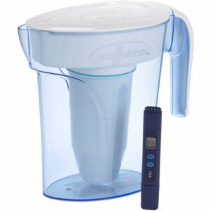 The Best Water Pitcher Option: ZeroWater ZP-006-4, 6 Cup Water Filter Pitcher