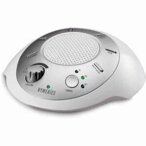 The Best White Noise Machine Option: Homedics Sound Spa White Noise Machine