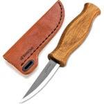Best Whittling Knife Options: BeaverCraft Sloyd Knife C4s 3.14 Wood Carving Sloyd Knife
