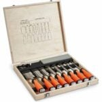 The Best Wood Chisels Option: VonHaus 10 pc Premium Chisel Set for Woodworking