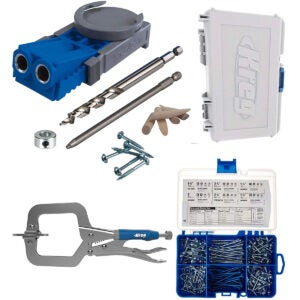 Pocket Hole Jigs Options: Kreg R3 Master System With SK04 Pocket Hole Screw Starter Kit