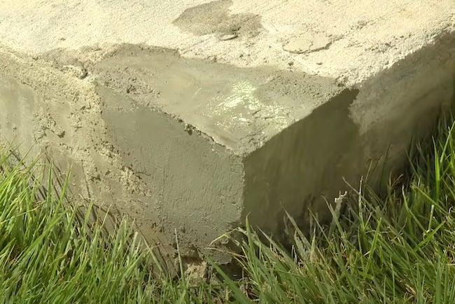 Repair Chipped Concrete
