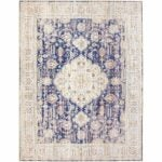 The Best Area Rugs Option: ReaLife Machine Washable Persian Distressed Rug