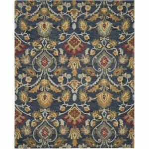 The Best Area Rugs Option: Safavieh Blossom Collection BLM402A Handmade Wool Rug