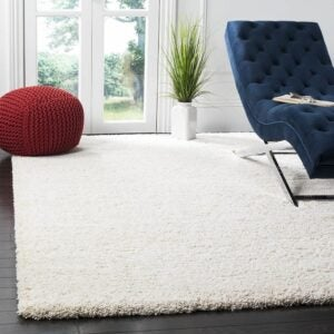 The Best Area Rugs Option: Safavieh Milan Shag Collection SG180-1212 Area Rug