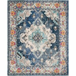 The Best Area Rugs Option: Safavieh Monaco Collection MNC243N Boho Chic Area Rug