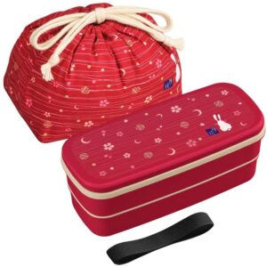 The Best Bento Box Options: OSK Japanese Traditional Rabbit Moon Bento Box Set