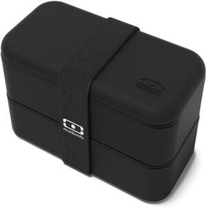 The Best Bento Box Options: monbento MB Original Black bento Box
