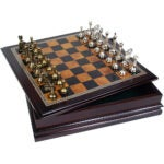 The Best Board Games Options: Classic Game Collection Metal Chess Set