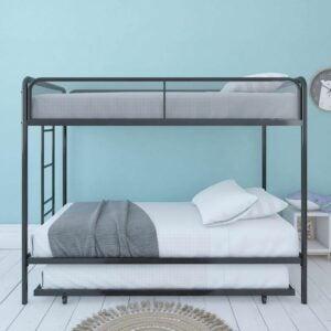 The Best Bunk Beds Option: DHP Triple Metal Bunk Bed