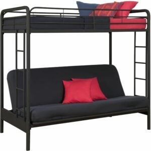The Best Bunk Beds Option: DHP Twin-Over-Futon Convertible Couch