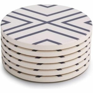 The Best Coasters Option: LIFVER Coasters for Drinks