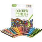 彩色铅笔的最佳选择:克雷奥拉彩色铅笔,50支