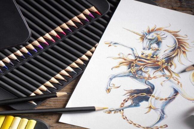 最好的彩色铅笔选择