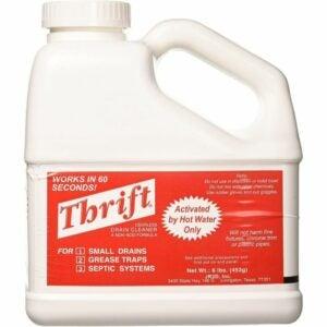The Best Drain Cleaner for Hair Option: THRIFT FBA_T-600 T-600 Granular Drain Cleaner