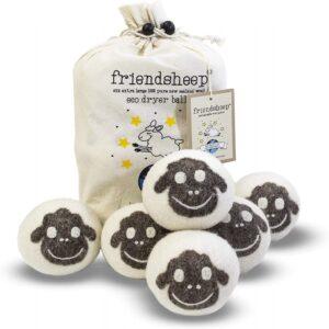 The Best Dryer Balls Options: Friendsheep Organic Eco Wool Dryer Balls