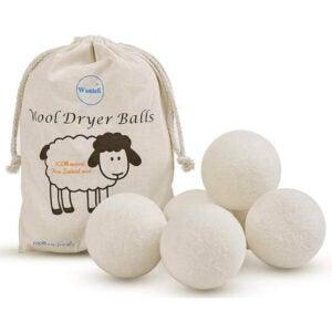 The Best Dryer Balls Options: Wantell Wool Dryer Balls 6-Pack XL