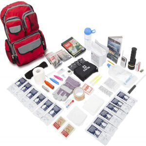 The Best Earthquake Kit Options: Emergency Zone 2 Person Family Prep Survival Kit