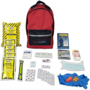 The Best Eartquake Kit Options: Ready American 70180 Emergency Kit 1 Person Backpack
