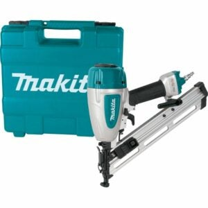 "The Best Finish Nailer Option: Makita AF635 15 Gauge, 2-1/2"" Angled Finish Nailer"