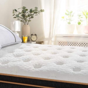 The Best Firm Mattress Options: BedStory 12 Inch Cool Gel Memory Foam Hybrid Mattress