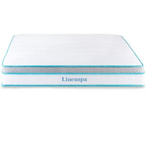 The Best Firm Mattress Options: Linenspa Memory Foam and Innerspring Hybrid Mattress