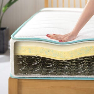 The Best Firm Mattress Options: Zinus 10 Inch Tight Top Innerspring Mattress