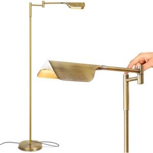 The Best Floor Lamps Options: Brightech Leaf - Adjustable Pharmacy LED Floor Lamp