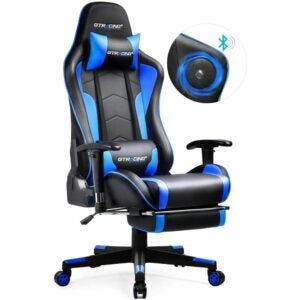 The Best Gaming Chair Option: GTRACING Gaming Chair with Speakers & Footrest