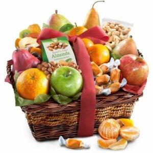 最好的礼品篮选项:金色果实果园喜悦美食篮